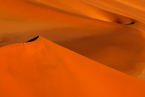 orange dune at sunset [©2005 paulgodard.com]