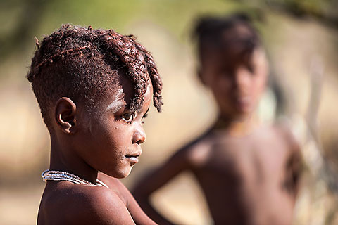 Himba people [©2011 paulgodard.com]