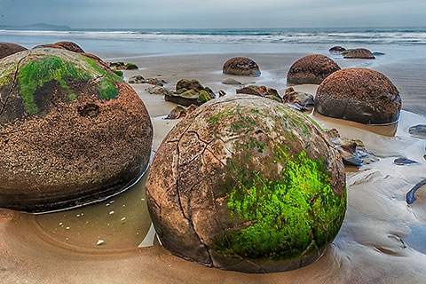 boulders on beach [©2015 paulgodard.com]
