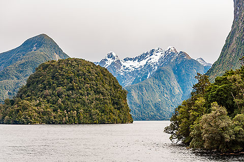 mountains along Doubtful Sound fjord [©2015 paulgodard.com]
