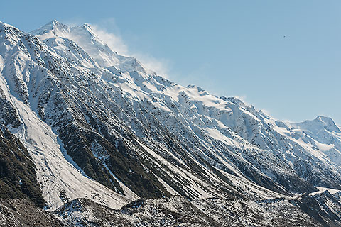 Mt Cook mountain range [©2015 paulgodard.com]