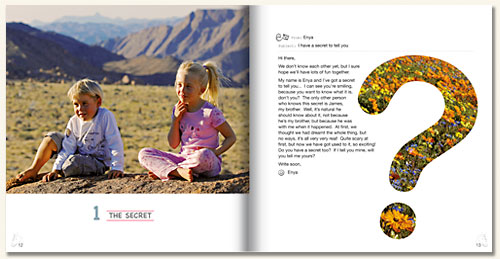 Book spread pages 12-13 © kidsofnature.org - Paul Godard - Soul Photography - Landscape - Nature - Fine Art