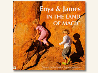 Enya & James In The Land Of Magic by Petra Vandecasteele & Paul Godard